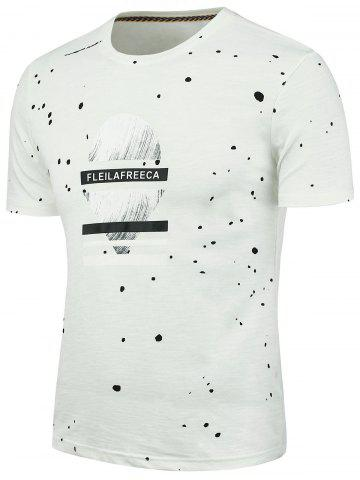 Shop Splatter Paint Graphic T-shirt