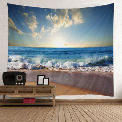 Home Decor Beach Sunlight Wall Tapestry