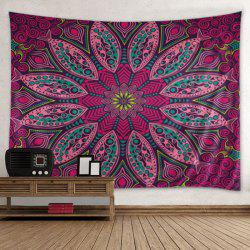 Wall Hanging Art Decoration Mandala Print Cool Tapisserie - Multicolore