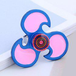 EDC Flower Hand Fidget Spinner Ring - BLUE