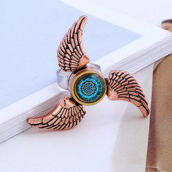 Angel Wings EDC Hand Fidget Spinner Ring - ROSE GOLD
