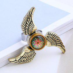 Angel Wings EDC Hand Fidget Spinner Ring - BRONZE