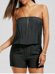 Tube Plain Romper