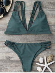 Braided Strappy Bikini Set