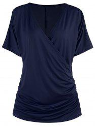 Scrunch Surplice T-shirt