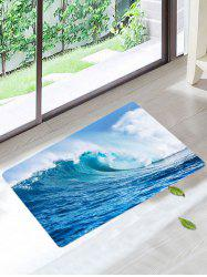 Sea Wave Skidproof Area Rug