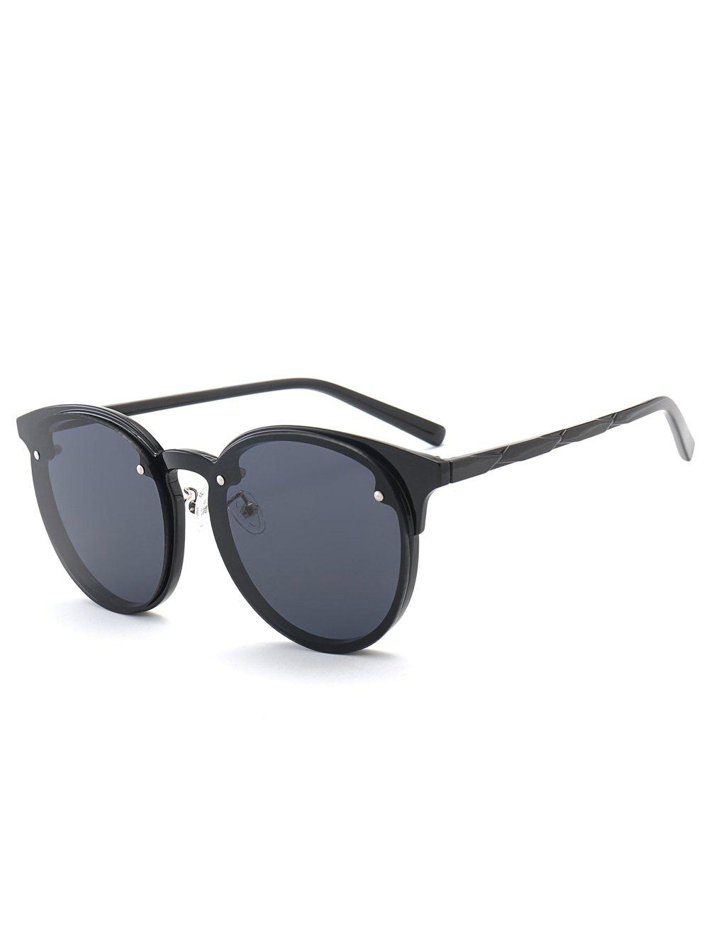 Ombre Anti UV SunglassesACCESSORIES<br><br>Color: BLACK; Group: Adult; Gender: For Women; Style: Fashion; Lens material: Resin; Frame material: Other; Frame Color: Multicolor; Lens height: 5.6CM; Lens width: 5.9CM; Temple Length: 14.6CM; Nose: 1.4CM; Frame Length: 15.0CM; Weight: 0.0840kg; Package Contents: 1 x Sunglasses;