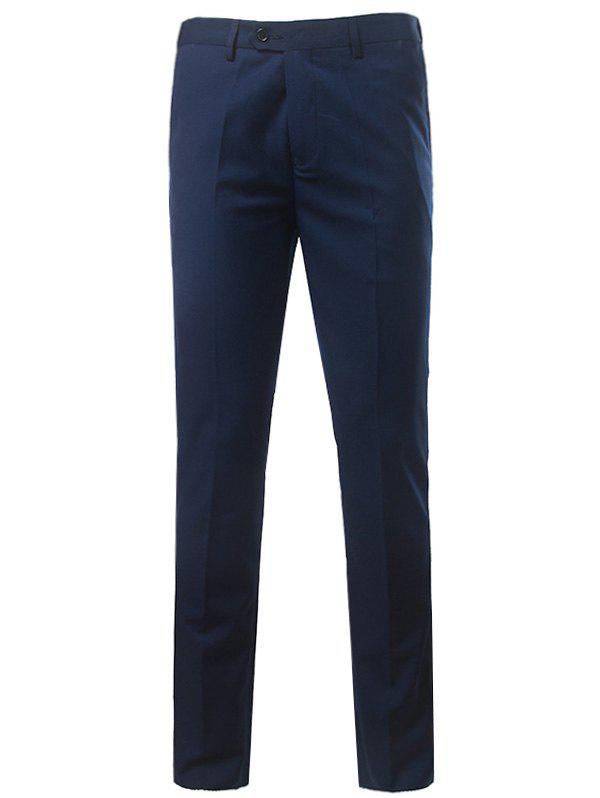 Online Slim Fit Zipper Fly Straight Leg Chino Pants