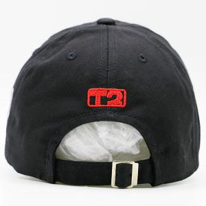 Badges Letters Patterned Baseball Cap - BLACK