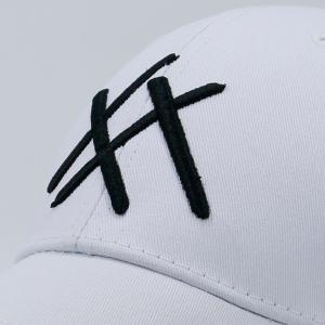 Geometric Patterned Baseball Cap - WHITE