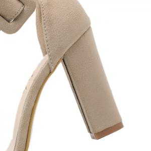 High Heel Ankle Strap Sandals -