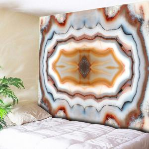 Wall Hanging Marble Print Decorated Tapestry