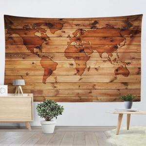World Map Wall Hanging rosewood w79 inch * l59 inch world map print wall hanging wood