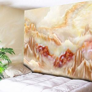 Wall Hanging Marble Landscape Printed Tapestry