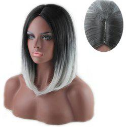 Colormix Center Part Straight Medium Bob Synthetic Wig