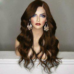 Long Shaggy Side Part Wavy Synthetic Wig