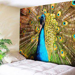 Animal Wall Hanging Peacock Printed Tapestry