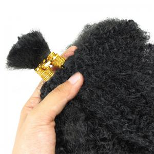 Long Fluffy Afro Kinky Cheveux Synthétiques Bouclés -