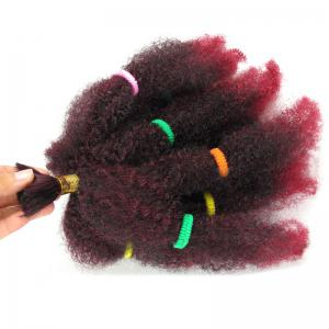 Long Fluffy Afro Kinky Curly Synthetic Hair Bulk -