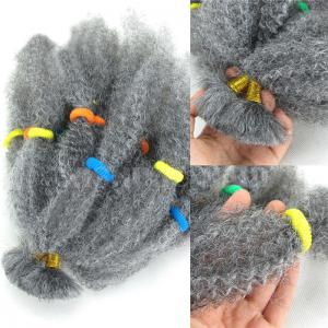 Long Fluffy Afro Kinky Curly Synthetic Hair Bulk