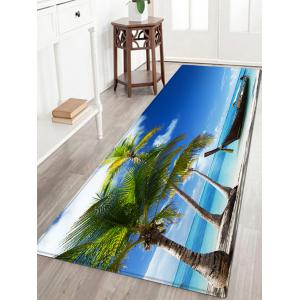 Beach Boat Pattern Anti-skid Water Absorption Area Rug
