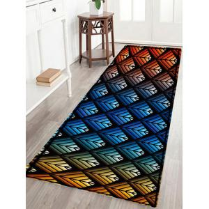 Colorful Ombre Pattern Anti-skid Water Absorption Area Rug - Colormix - W24 Inch * L71 Inch