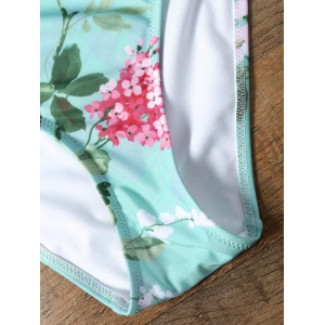 One Piece Keyhole Floral Swimsuit - FRESH XL