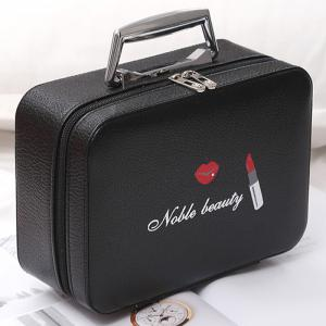 Lip and Lipstick Print Makeup Box -
