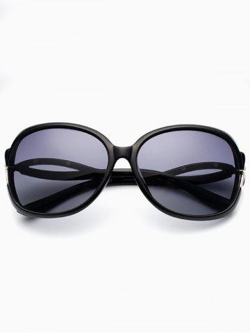 Affordable Hollow Cut Reflective Anti UV Sunglasses PHOTO BLACK