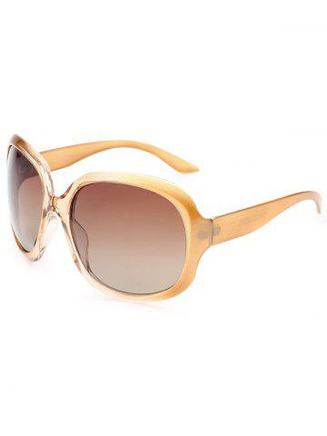 Shop UV Protection Sunproof Polarized Sunglasses  CHAMPAGNE