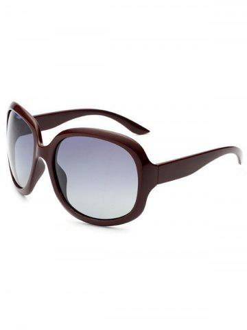 Discount UV Protection Sunproof Polarized Sunglasses  CLARET
