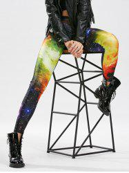 Skinny High Waisted Galaxy Leggings