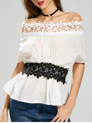 Laced Off The Shoulder Top