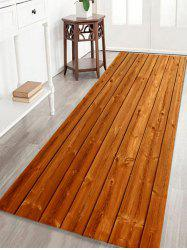 Soft Absorption Woodgrain Indoor Outdoor Area Rug