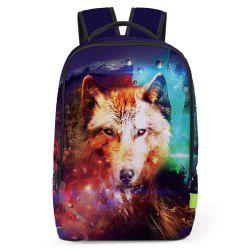 Animal 3D Print Backpack - MULTI