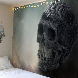 Wall Hanging Skull Pattern Waterproof Tapestry