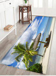 Deck Chair Beach Pattern Anti-skid Water Absorption Area Rug