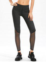Mesh Panel Gym Leggings