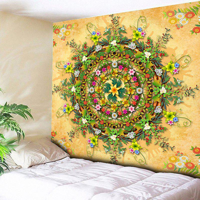 c28c00f4e1 Trendy Decorative Wall Hanging Flower Printed Tapestry