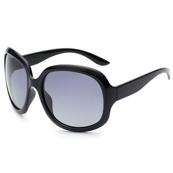 Outdoor UV Protection SunglassesACCESSORIES<br><br>Color: PHOTO BLACK; Group: Adult; Gender: For Women; Style: Fashion; Lens material: Polycarbonate; Frame material: Other; Lens height: 6.3CM; Lens width: 6.2CM; Temple Length: 14.3CM; Nose: 2.1CM; Frame Length: 12.0CM; Weight: 0.0500kg; Package Contents: 1 x Sunglasses;
