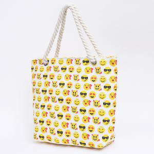Sac imprimé Canvas Beach - Jaune