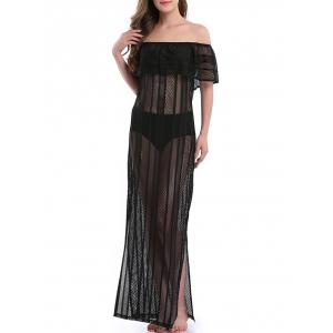 Off The Shoulder Maxi Cover Up Dress
