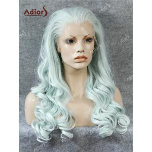 Adios Free Part Long Shaggy Curly Lace Front Synthetic Wig -