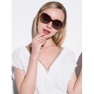 Polarized Anti UV Sunglasses  - TEA-COLORED