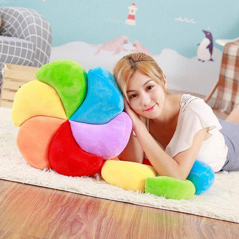Best Stuffed Toy Rainbow Pinwheel Shape Throw Pillow - COLORFUL  Mobile