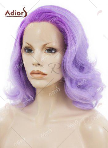 Shops Adiors Medium Colormix Side Swept Bang Curly Lace Front Synthetic Wig - JUBILEE  Mobile