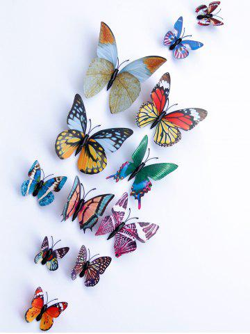 Sale 3D Single Wing Butterfly Luminous Wall Stickers - COLORFUL  Mobile