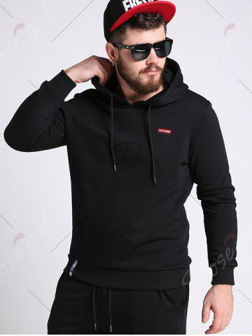 Shops Battroid Pattern Plus Size Hoodie - 3XL BLACK Mobile