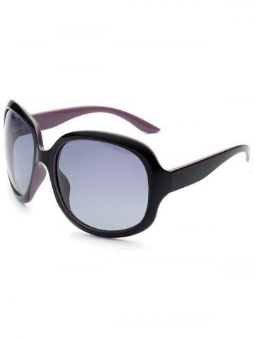New UV Protection Sunproof Polarized Sunglasses  - PURPLE  Mobile