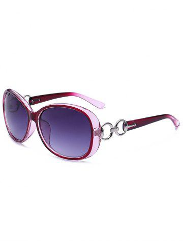 Trendy Polarized Anti UV Sunglasses  - PURPLE  Mobile